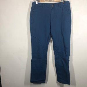 Bonobos blue slim fit pants size 33x30